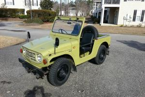 ULTRA RARE COLLECTORS SUV 1971 SUZULI LJ10 VERY ORIGINAL WITH TOP AND DOORS !!!