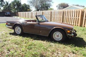LOOK ! 1976 immaculate well kept Owned since 1978  45k miles Fantastic TR6