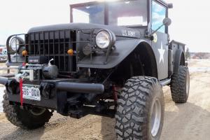 Dodge :1953 MILITARY M37 DODGE POWER WAGON TURBO CUMMINS 4BT