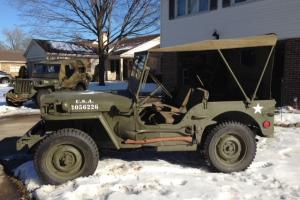 WWII '42 Ford GPW Jeep