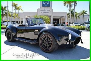 1967 Back Draft Cobra Roush Power Low Miles Black/Black