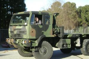 1995 Stewart and Stevenson LMTV - M1078 - 2.5 Ton Cargo Truck - 5000 Miles
