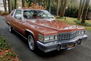 1977 Cadillac Coupe DeVille d'Elegance