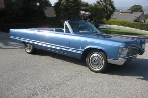 1967 Chrysler Imperial Convertible - BEAUTIFUL!