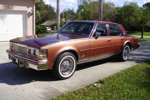 "1979 Cadillac Seville Elegante ""Stunning"", 40K Original Miles, Garaged, Records"