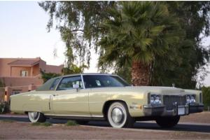 1972 Cadillac Eldorado Coupe Excellent 2 owner 100% original well maintained