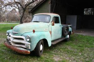 1955 Chevrolet 3100 1st Series has 35,000 Original Miles! TRUE REAL BARN FIND