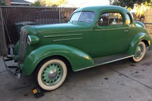 1936 chevy 5 window coupe project Photo