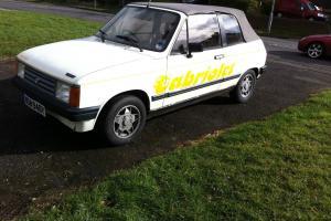 Rare Talbot Samba Cabriolet 1983 1.4 MOT failure needing new home PROJECT