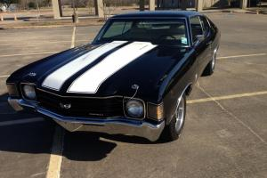 1972 Chevelle SS, 502 crate motor, Tremec 5 speed, a/c, ps, pdb, gauges, posi