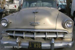1954 Chevrolet Bel Air Base Sedan 4-Door 3.8L