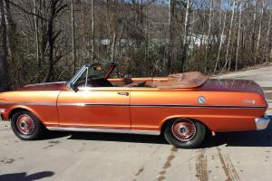 1963 Chevrolet Nova Convertible RARE Chevy Nova Conv. 100% Mint Restoration