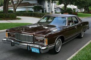 ELEGANT TWO OWNER LUXURY CLASSIC - 1978 Mercury Grand Marquis -  47K ORIG MI