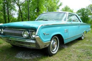 1964 MERCURY MONTEREY MURAUDER FASTBACK  ALL ORIGINAL NO RUST EVER      ford 63