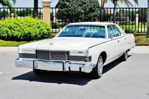 Speical ordered 73 Mercury Grand Marquis Brougham Triple White 34924 miles mint