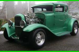 1931 Ford Model A Coupe Chopped 3 Custom Built 400CI Small Block V8 Gasoline