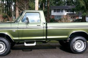 1975 FORD HIGHBOY F-250 RANGER 4X4 390 AUTO A/C LOCKING HUBS BUY IT NOW 15,000!! Photo
