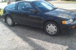 1989 Honda Crx Si 5 Speed 152000 Miles