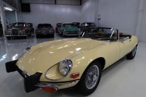 1974 JAGUAR XKE CONVERTIBLE, 30,406 ORIGINAL MILES, MATCHING #'S ENGINE!