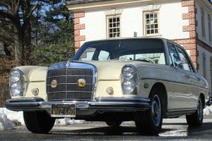 1968 MERCEDES 280SE Original, Caliornia BLACK PLATE NEVERRUSTED