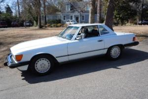 1986 Mercedes Benz 560SL, One family since new, 46K, NOT MANY LIKE THIS