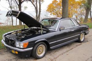 1979 Mercedes Benz 500 SLC | 15k miles | Homologation 5.0L engine | Euro model