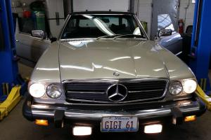 Mercedes Benz SL 450 Mint in and out. 58,000 original miles!!!!! Photo