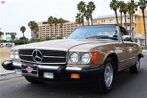 '85 380 SL, 17k miles, absolutely superb, books, records and window sticker