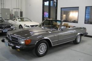 1984 Mercedes-Benz 380SL Roadster Both Tops