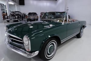 1966 MERCEDES-BENZ 230SL, SERVICE RECORDS DATING FROM NEW!