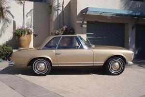1964 MERCEDES BENZ 230 SL CLASSIC ROADSTER GREAT INSIDE & OUT HARD & SOFT TOP!