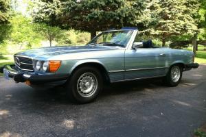 1977 Mercedes Benz 450SL - 72,967 Miles, Light Blue w/ Dark Blue Interior