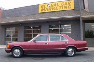 1989 MERCEDES 420SEL SEDAN, ONE OWNER CAR WITH ONLY 83K ORIGINAL MILES!