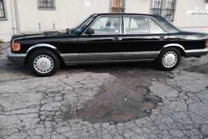 Mercedes 1986 300SDL 1 owner original paint 64k original miles clean Carfax