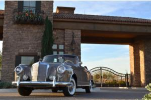 1957 Mercedes 220S Cabriolet Restored Just out of long term collection Stunning