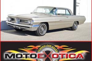 1962 PONTIAC GRAND PRIX-RARE 1ST YEAR-TRI CARBS-ORIGINAL 389-CID ENGINE & WHEELS