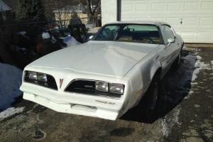 1978 Pontiac Firebird, white, automatic