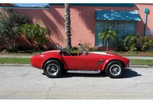 SHELBY COBRA REPLICA, FORD 428 BIG BLOCK, 4 SPEED,  WE SHIP WORLD WIDE !!!