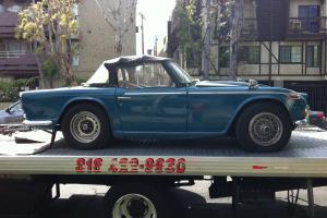 Rare 1968 Triumph TR250 Convertible