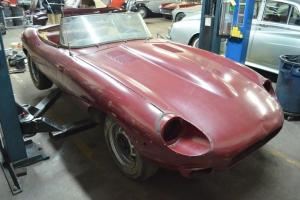 Jaguar E type 1970 roadster, matching numbers, excellent complete project!!