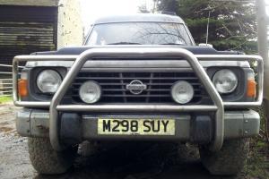 Nissan Patrol Safari High top 4x4 Y60 GR LWB 4.2 diesel manual GQ Sussex Surrey