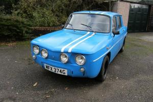 RENAULT 8TS FOR RESTORATION (Spanish R8 Gordini)