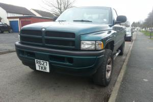 1998 DODGE RAM 1500 SPORT 4x4. WITH LPG CONVERSION, WITH 12 MONTHS MOT.