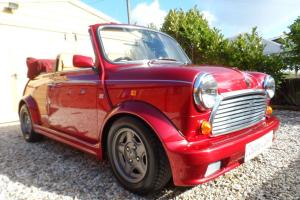 1993 Mini Lamm Cabrio ONE Owner low miles 32k, IMMACULATE COND, unique, new MOT