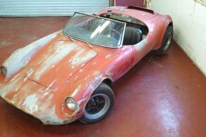 Devin race car, Volkswagen Porsche speedster,  autocross special, SCCA, Abarth
