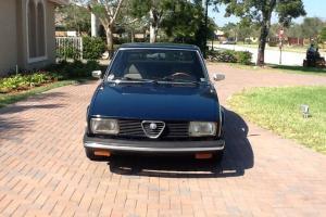 1978 Alfa Romeo Alfetta Sedan