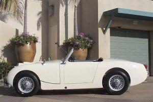 1960 AUSTIN HEALEY SPRITE BUGEYE ROADSTER RESTORED RUST FREE CALIFORNIA CAR!