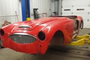 1957 Austin Healey 100-6 BARN FIND ***NO RESERVE*** Photo