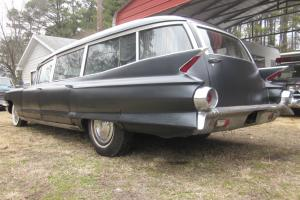 1961 Cadillac Miller Meteor Futura Hearse Rat Rod Custom Ecto 1 project ambulanc