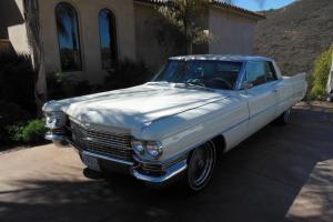 1963 Cadillac Series 62 Coupe De Ville